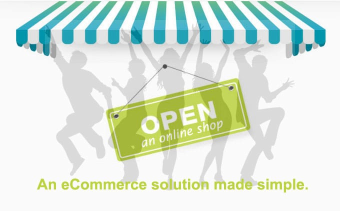 open an online shop
